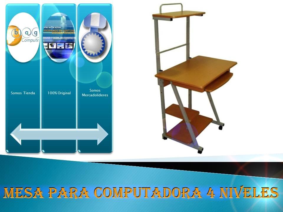 Mesas para computadoras de vidrio mercadolibre venezuela for Mesa para computadora